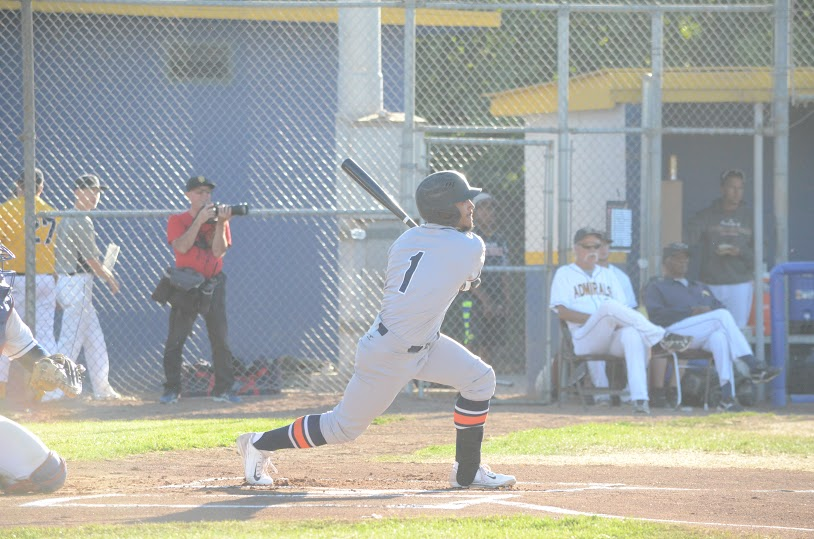 Matt Hibbert was the team leader in RBIs in the Stompers 9-8 victory over the Admirals Saturday. Hibbert finished the game 2 for 3 with a run scored, and three RBIs. James Toy III/Sonoma Stompers