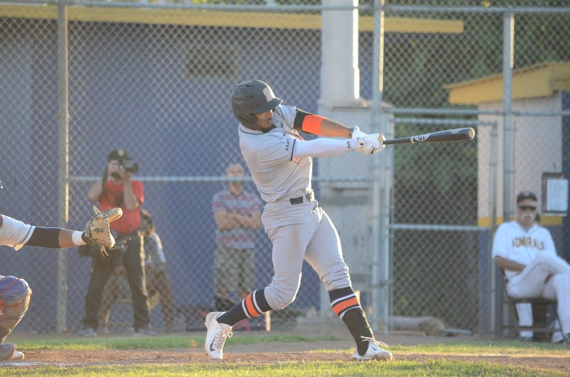 Matt Hibbert provided a large portion of Sonoma's offense Wednesday in a 6-3 loss to the San Rafael. Hibbert finished the game 3 for 5 with an RBI and one run scored. James Toy III/Sonoma Stompers