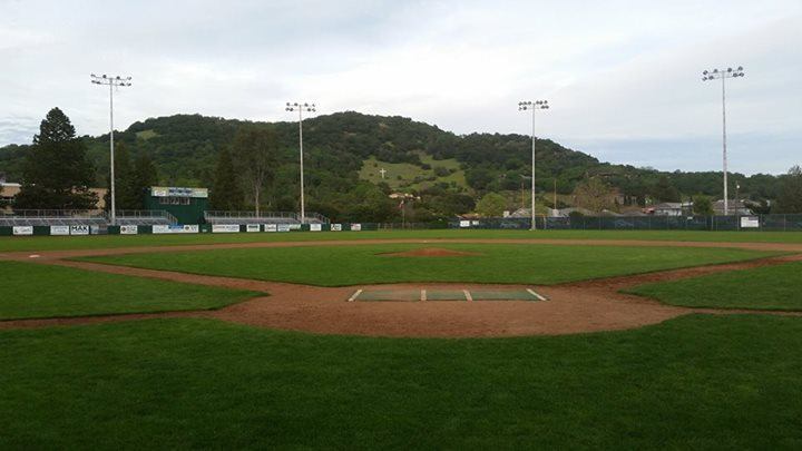 Arnold Field will have two female baseball players play on it Friday night when the Stompers have Kelsie Whitmore and Stacy Piagno start for the team at People's Home Equity Ballpark. Ben Lindbergh/Sonoma Stomper, FiveThirthyEight