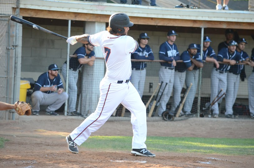 Joel Carranza and Sonoma's offense was solid with 11 hits combined. Carranza finished 3 for 4 with three RBIs in the Stompers 5-1 win Saturday. James Toy III/Sonoma Stompers