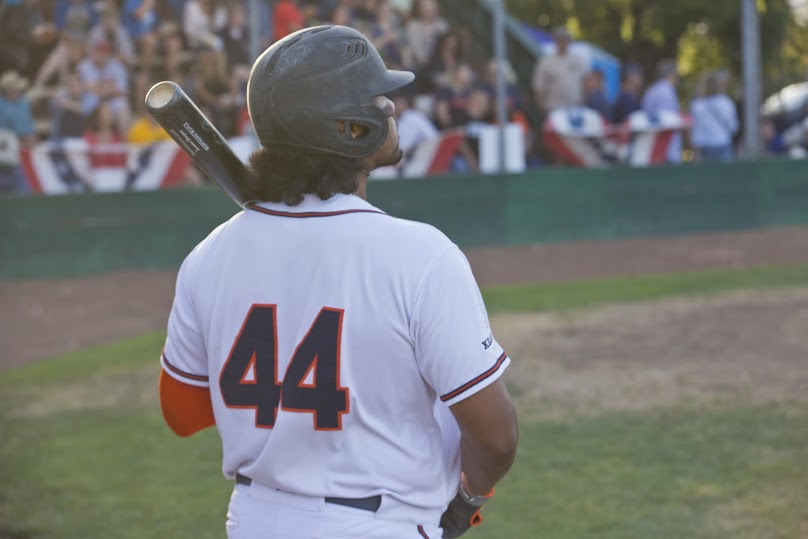 Daniel Baptista has been swinging a hot bat as of late, and his success continued Monday. Baptista was 2 for 4 with a home run and an RBI.   Rick Bolen/Sonoma Stompers