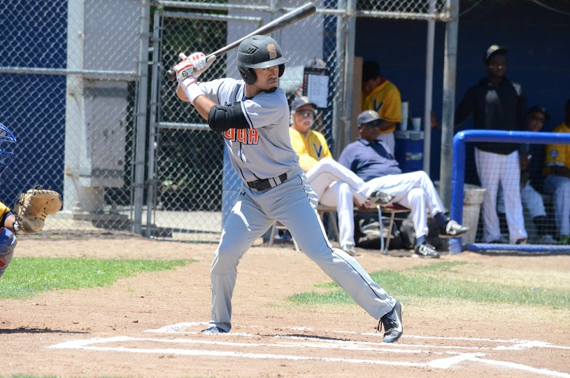 Yuki Yasuda had one of his best nights at the plate this season in the Stompers 6-4 win Wednesday over the Diamonds. Yasuda was 3 for 4 with a home run, three RBIs and two runs scored. James Toy III/ Sonoma Stompers