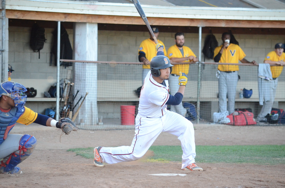 Mason Morioka led Sonoma's offense in a 9-2 victory with a fantastic night at the plate. Morioka finished 3 for 4 with two runs scored and two RBIs.   James Toy III/Sonoma Stompers