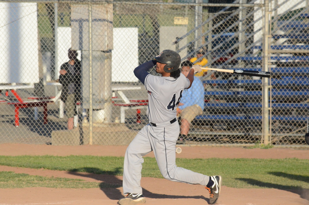 Daniel Baptista was one of three Stompers with three hits or more in Sonoma's 8-5 win over the Pacifcs. Baptista was 3 for 6 with a homer and three driven in.  James Toy III/Sonoma Stompers