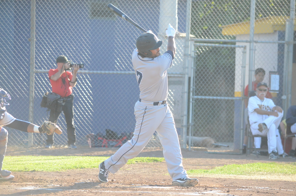 Joel Carranza hit his 10th home run of the season in a 3-2 loss to the Pacifics. He has reached double digits in homers in three straight seasons with the Stompers. James Toy III/Sonoma Stompers