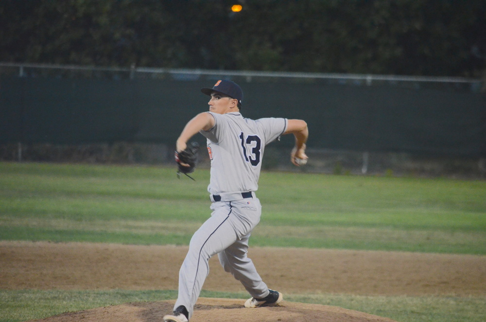 Juan Espinosa was fantastic on Sunday, allowing only one earned run in 7 1/3 innings in his first start of the season.   James Toy III/Sonoma Stompers