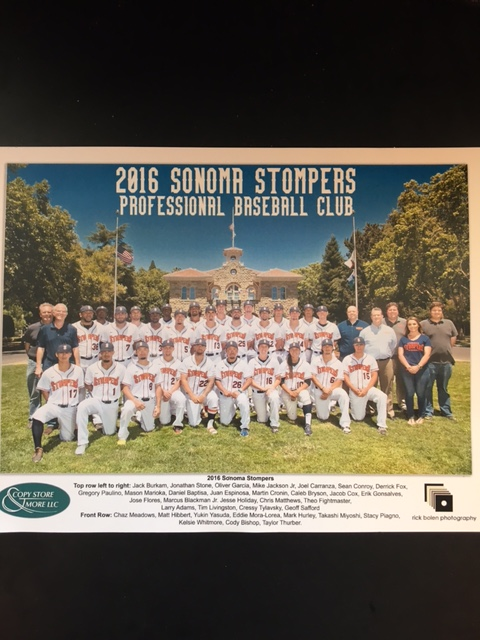 The 2016 Stompers team photo will be given out to first 150 fans in attendance courtesy of our friends at Rick Bolen Photography and Copy Store & More LLC.