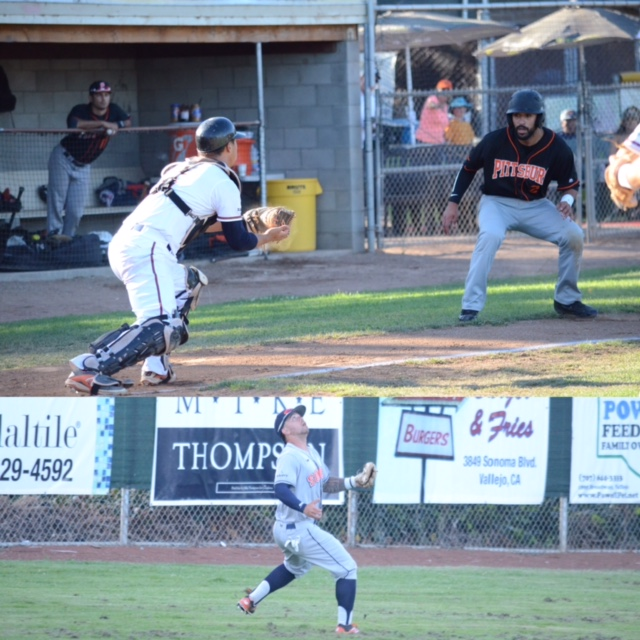 Catcher Mason Morioka (top), and left fielder Mark Hurley (bottom) were voted as defensive players of the year at their positions for the 2016 season.   James Toy III/Sonoma Stompers