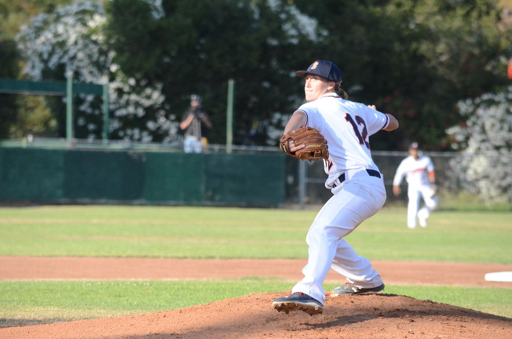 The Stompers Announced Monday that they have resigned right handed pitcher Stacy Piagno to a contract for the 2017 season.   James Toy III/ Sonoma Stompers