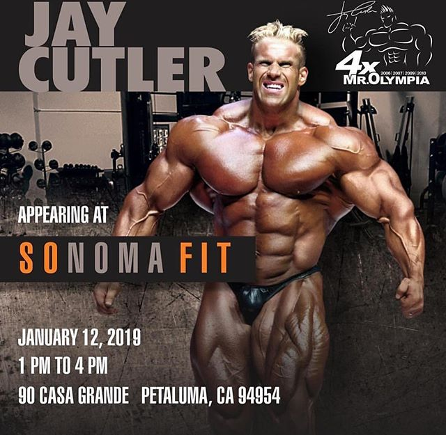 The Sonoma Stompers will be attending Sonoma Fit's grand opening party this weekend. We'll have a table with some merchandise and season tickets available. Come meet Mr. 4x Olympia Jay Cutler! See you there!