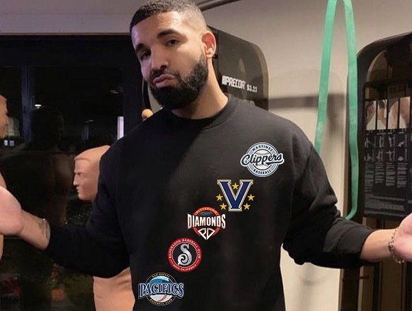 Thanks for having our back @champagnepapi .This #drakecurse is still a thing, right?