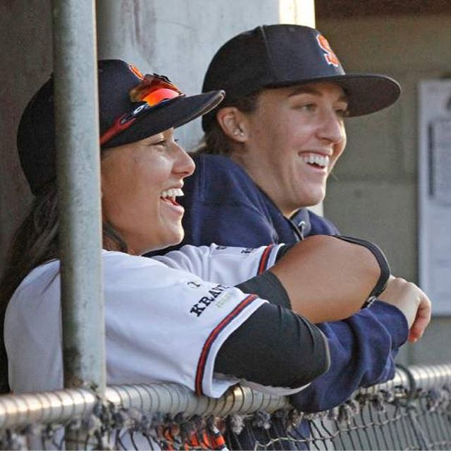 On National Girls and Women in Sports Day, we are grateful for the contributions made by Stacy Piagno and Kelsie Whitmore to grow the game of baseball. Thank you both, this day is for you!
