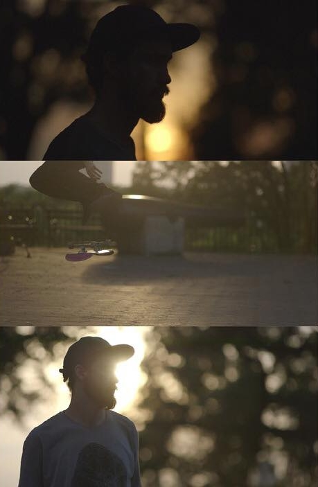 Screengrabs, raw and untouched in C-log of skate session closeups shot with the  Tokina 85mm Vista Prime