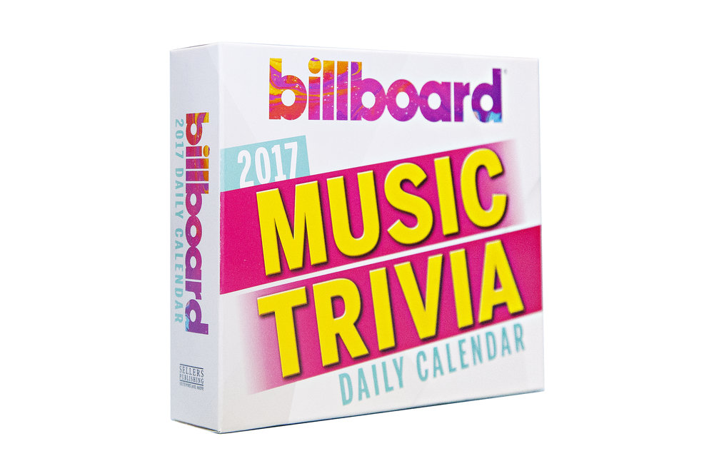 Billboard Trivia Desk Calendars
