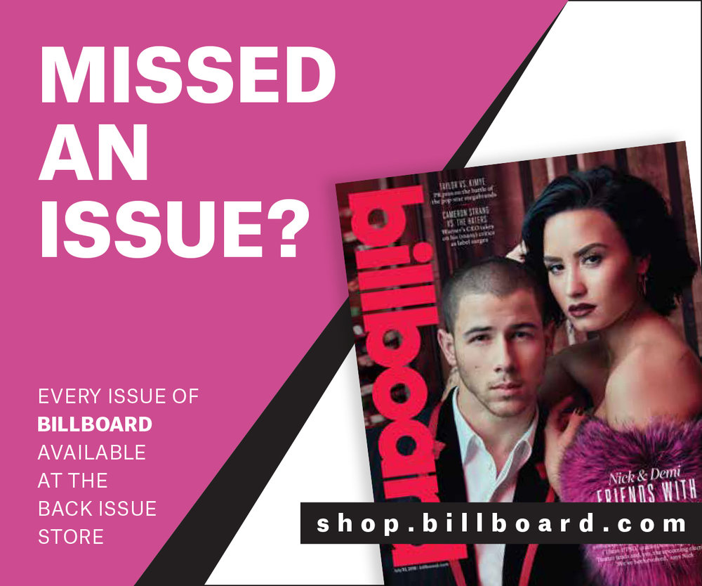 Billboard Magazine Back Issues