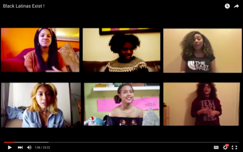 "Screenshot from ""Black Latinas Exist!"""