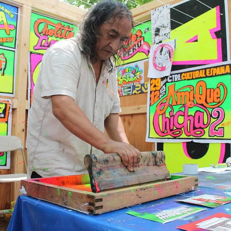 Pioneer painter Monky.FOTO CREDIT: Carga Máxima.