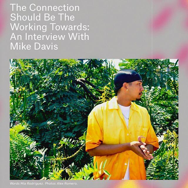 An in-depth interview by Mia Rodríguez with @hoodprofet for En Mi Piel ⛓ photo by Alex Romero @tinyavocado