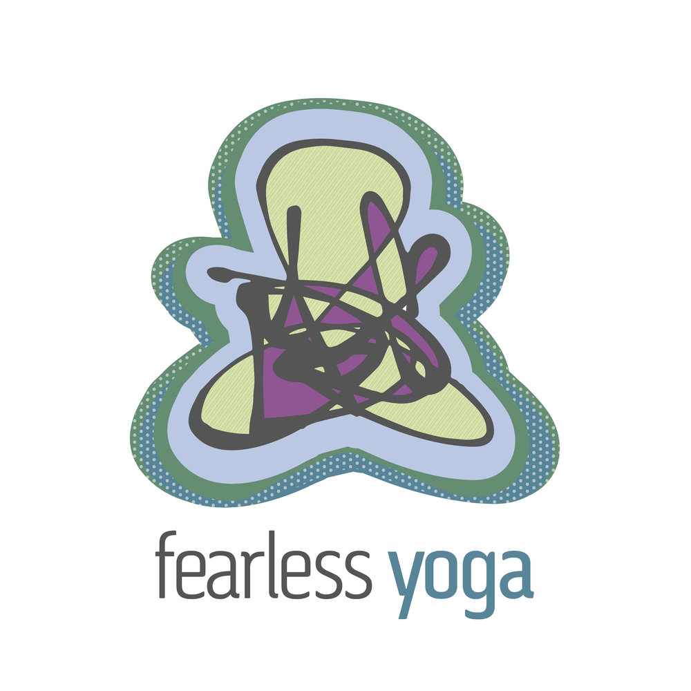 Logo Design Fearless Yoga Wausau