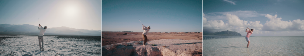 Adventures In Golf | dir. Erik Anders Lang |   documentary
