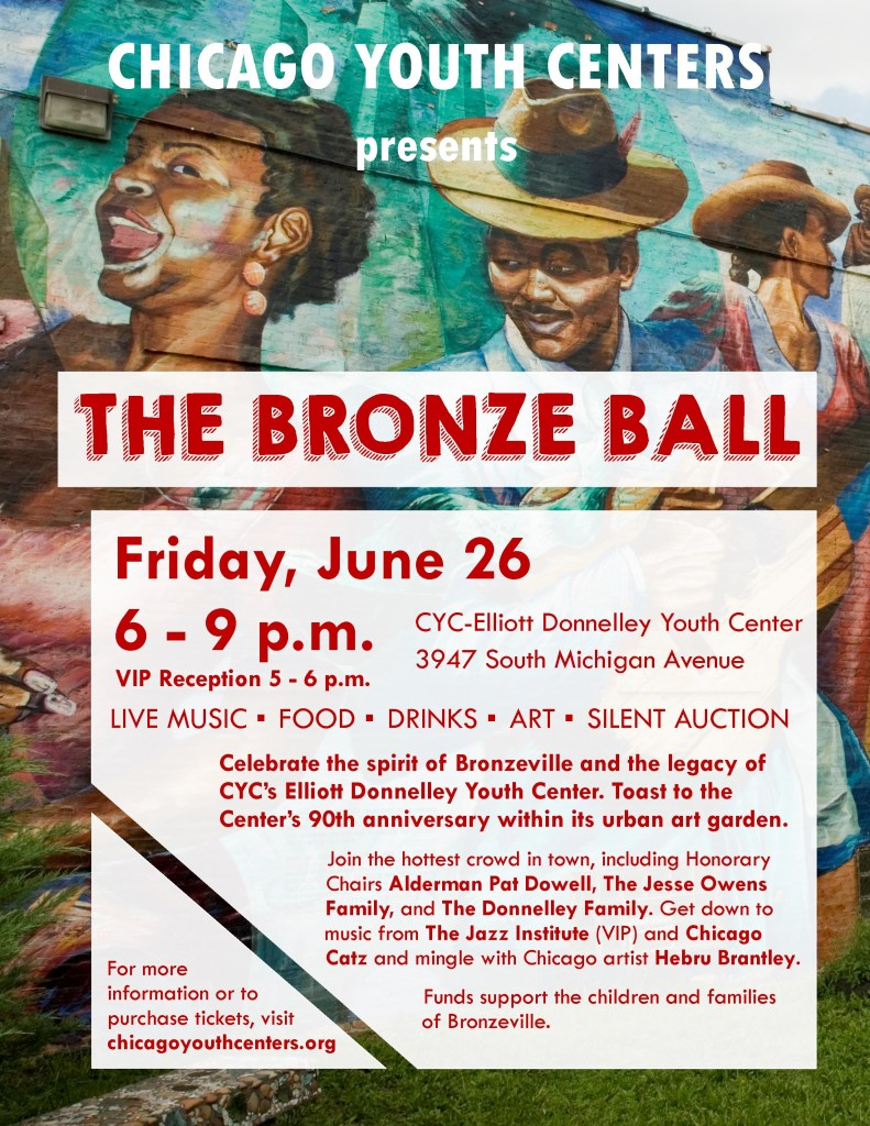 Bronze Ball Sponsorship Flyer