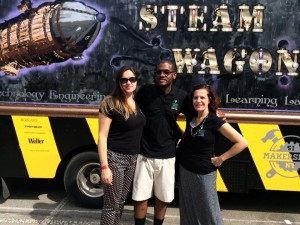 STEAM Team at the World Maker Faire