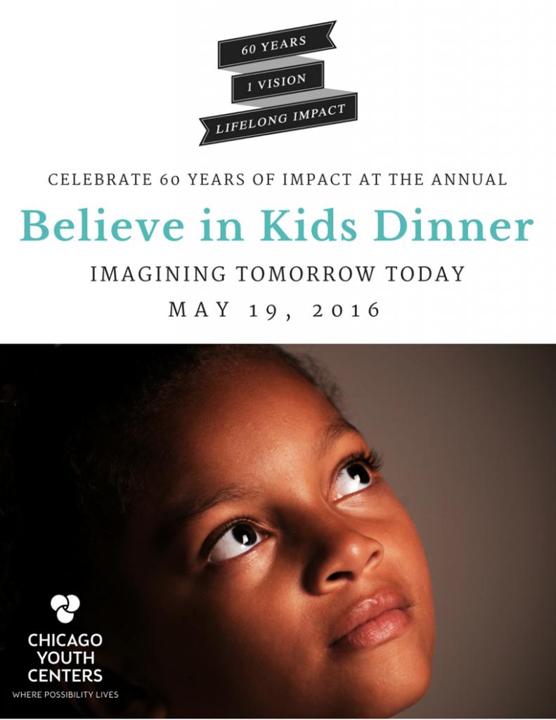 CYC Believe in Kids Dinner 2016