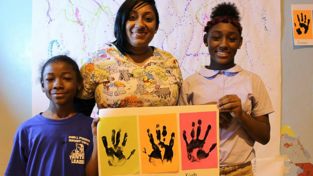 We partner with parents and guardians and teach families to foster positive youth development at home.