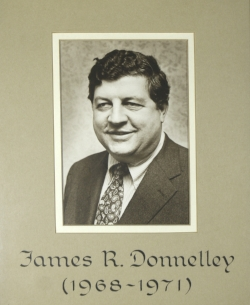 jIM DONNELLEY, THE SON OF cyc CO-FOUNDER ELLIOTT DONNELLEY, WAS THE cyc BOARD CHAIR FROM 1968 TO 1971.