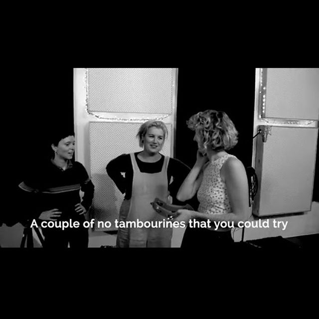 @halfwayrecords captured us one Sunday morning having a sing with our friends and it was a soul-cleansing experience. Featuring Maggie Rigby, @katiewighton, @musicofmeltaylor and the out of context tambourine joke above, check out Truths and Parallel. Link in bio. Premiered by Pilerats. ❤️