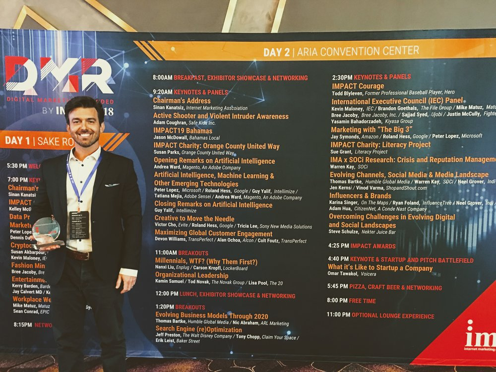 """CYS Wins """"Best Use of Analytics"""" at IMPACT18"""