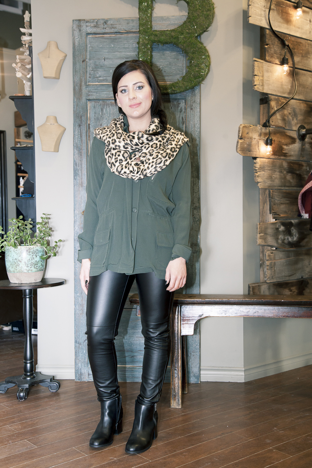 Bella-Maas-Boutique-edmonton-sherwood-park-st-albert-trend-spring-coat-army-bb-dakota-mia-shoes-michael-kors