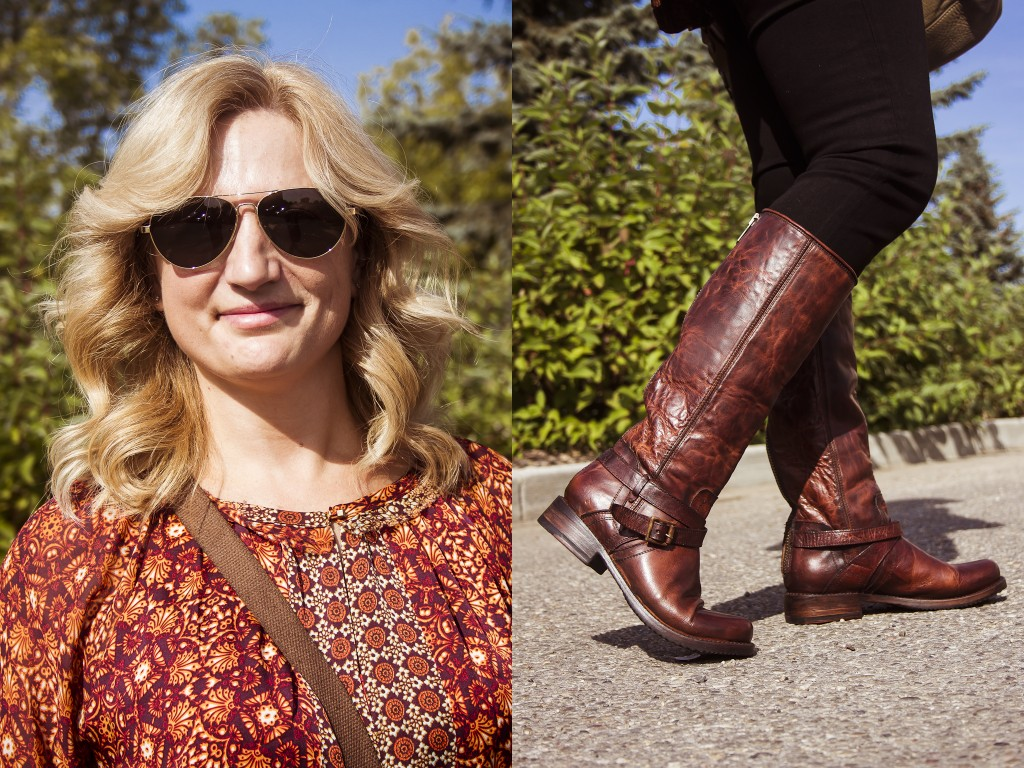 bella maas edmonton st albert sherwood park jeans boots blouse print fall 2014 fashion toms 01