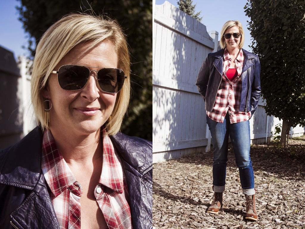 bella maas st edmonton st albert sherwood park fall fashion 2014 plaid Rails LA TOMS sunglasses UGG boots tweed jeans style 01