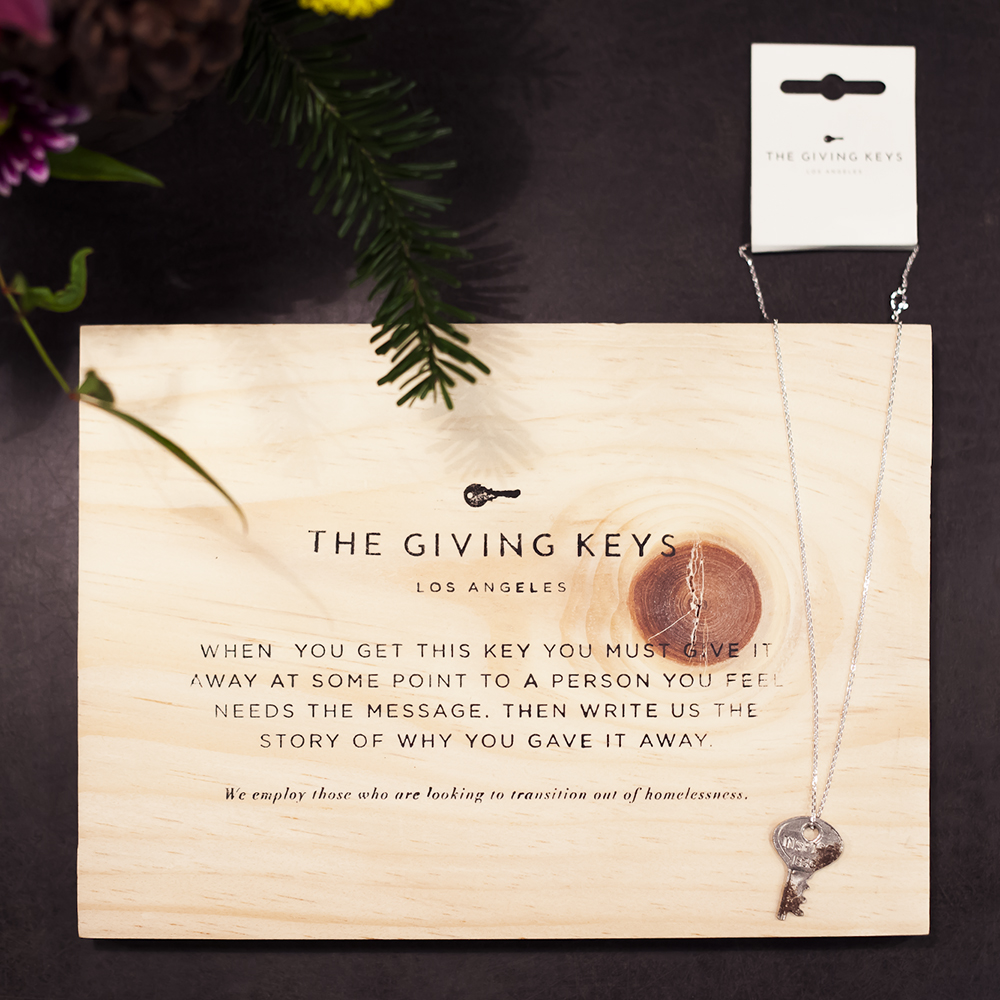 Bella Maas edmonton fashion clothing store boutique the giving keys accessories necklace key inspirational gift guide holiday 2014 01