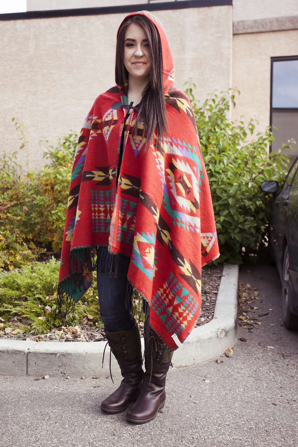bella maas boutique sherwood park st albert fall 2014 jackson rowe poncho ugg boots jeans 01