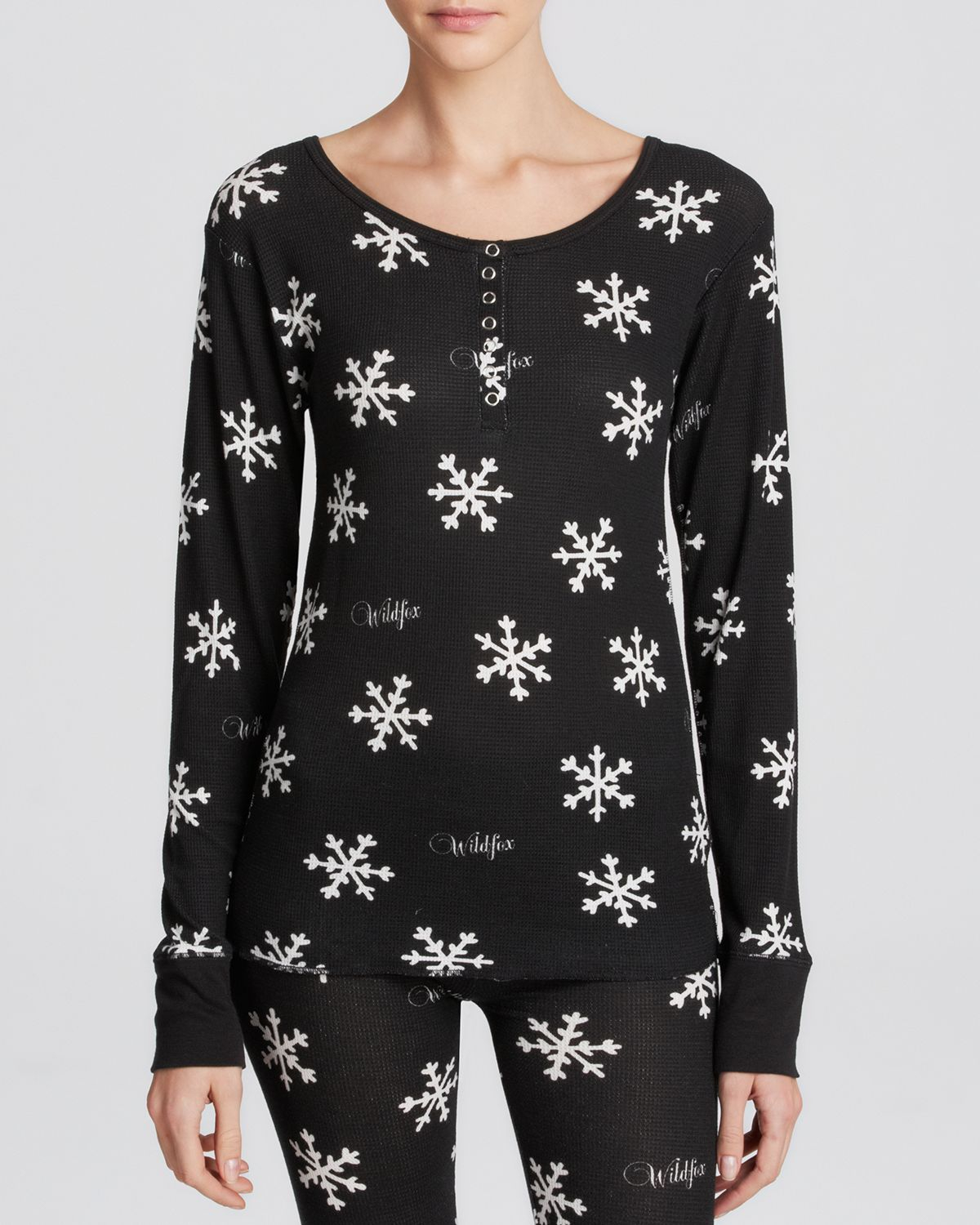 wildfox-black-tee-snowflake-thermal-knit-henley-product-1-25087757-1-666945381-normal