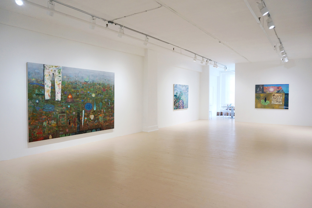 Summer 2014, installation view, Hugues Charbonneau Gallery, Montreal, 2014.
