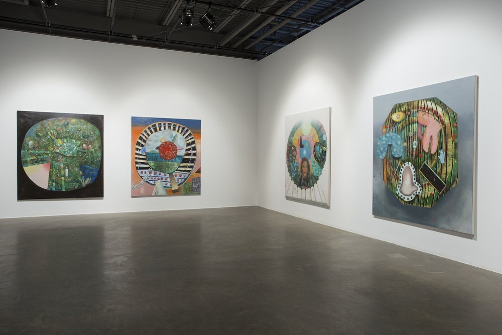 The Fans, Installation view, L'oeil de Poisson Gallery, Québec, 2014