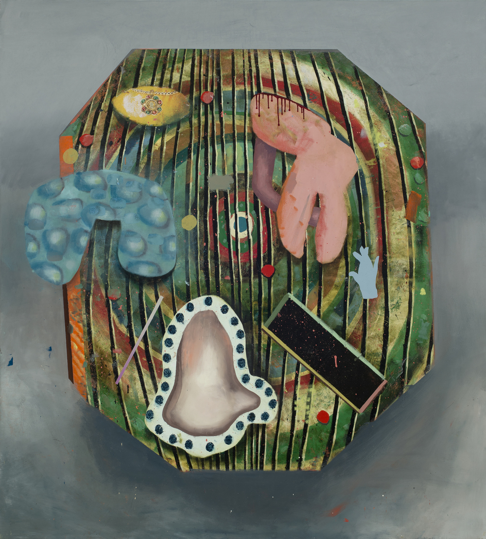 Collection, oil on canvas, 78x72 inches, 2014