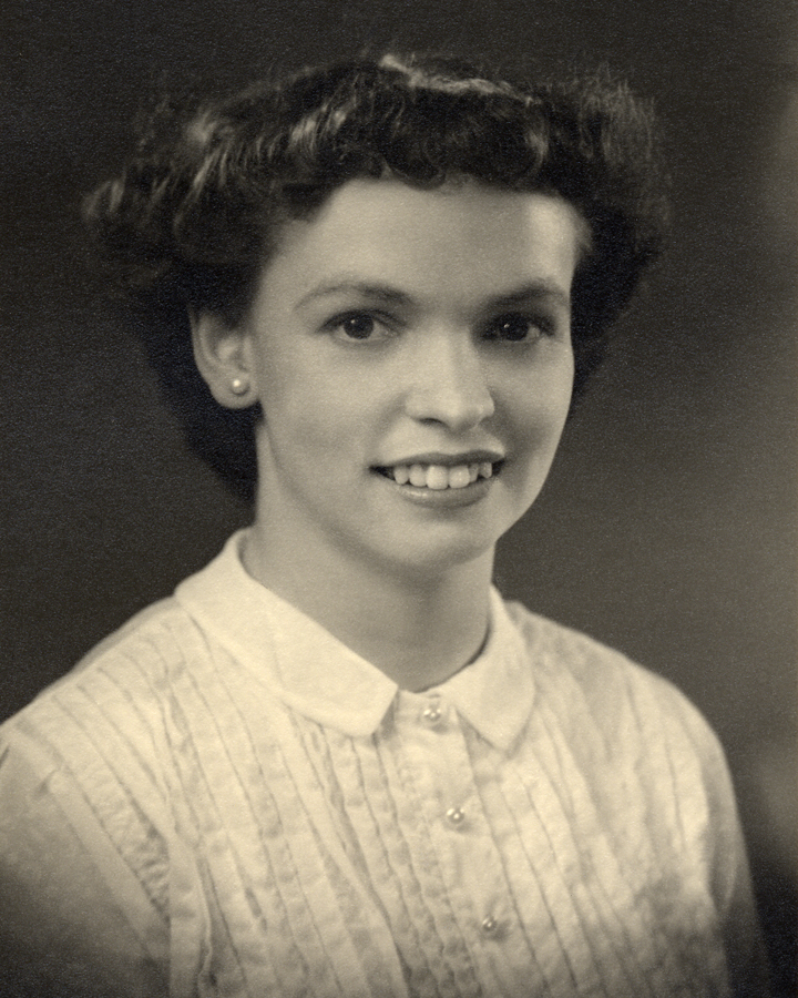 My mother, Audrey Cooper, approximately 17 years old