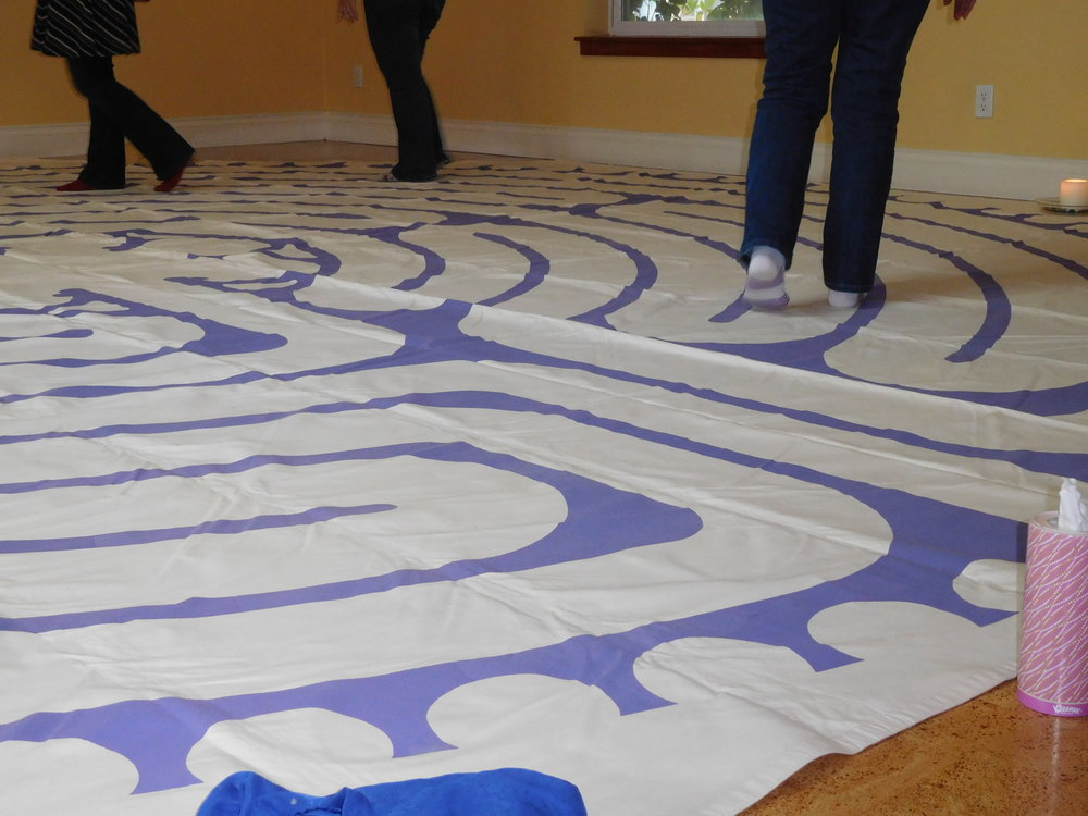 Journey Through Loss: Exploring Grief and Loss Through the Archetype of the Labyrinth workshop, Oct 2, 2016. Held at Awakening Wellness Center, SE Portland.