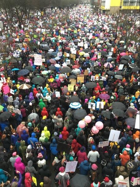 Women's March on Washington, Portland OR, 1/21/17