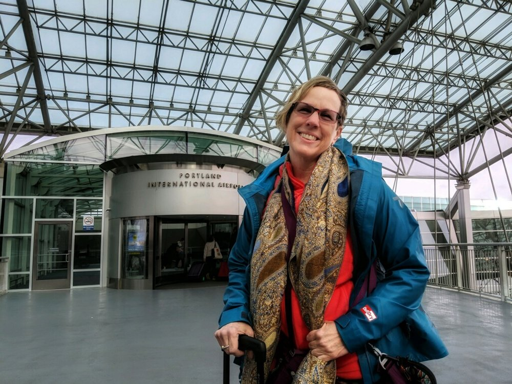 Portland International Airport. The journey begins. Photo courtesy of David Bardes. https://dbardes.zenfolio.com/