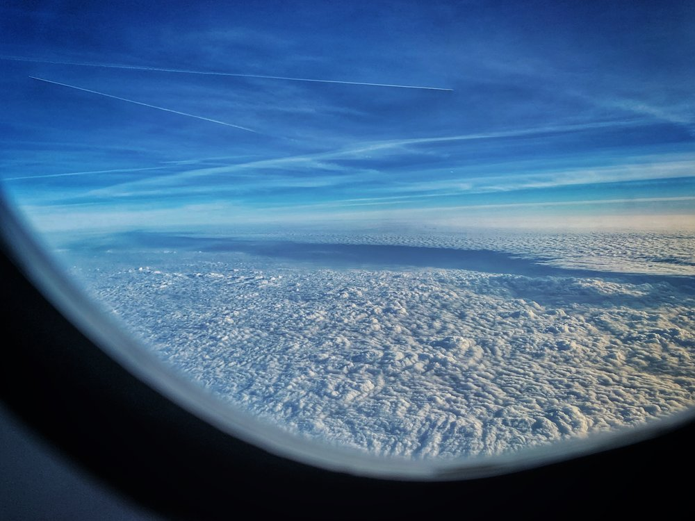 Inner landscape from 30,000 feet