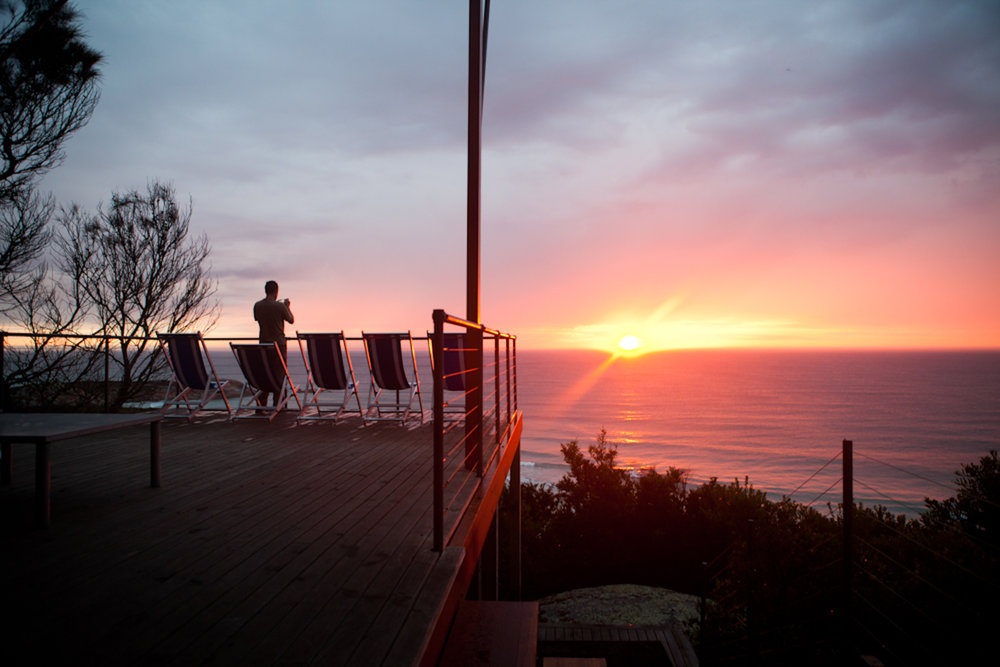 sunrise from Bay of Fires Lodge Deck need to credit Helen Cathcart.jpg