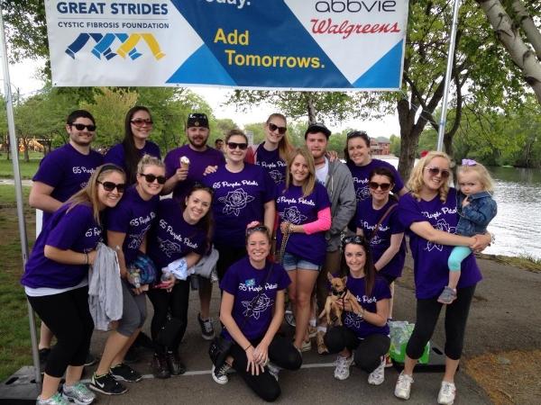 Great Strides walk 2014