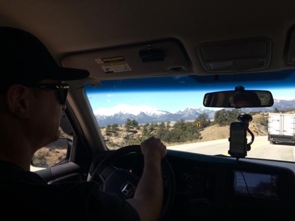 Backseat views