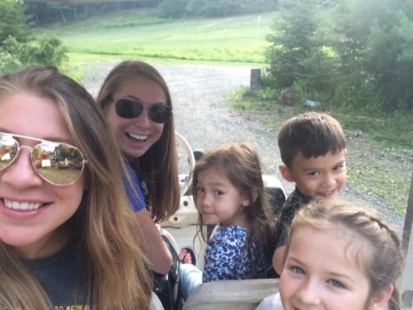 Golf cart rides!