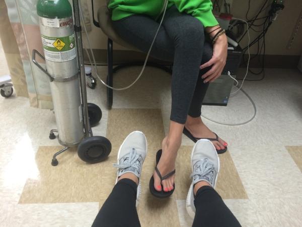 Last hospital visit in Denver